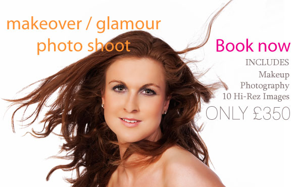 Makeover photography - Only from £20